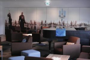 A restaurant or other place to eat at Melshorn Hotell
