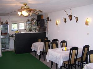 Restaurace v ubytování Penzion Eva