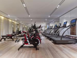 The fitness center and/or fitness facilities at Baccarat Hotel and Residences New York