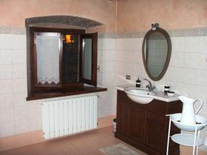 A bathroom at Bed & Breakfast La Corte