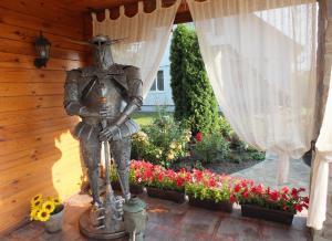 A porch or other outdoor area at Agrousadba Svetlazara