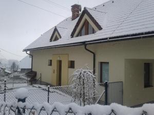 Penzion Emilia v zime