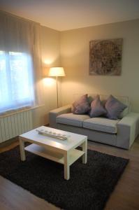 Zona de estar de Montseny Suites & Apartments