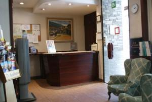 Лобби или стойка регистрации в Hotel Sant Jordi