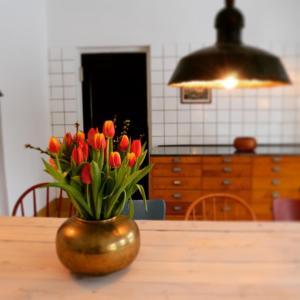 Ett kök eller pentry på Fengers Husrum