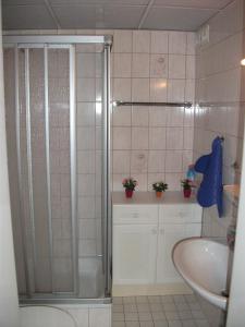 Ein Badezimmer in der Unterkunft Ferienwohnung Christa