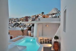 A view of the pool at Trieris Villa & Suites or nearby