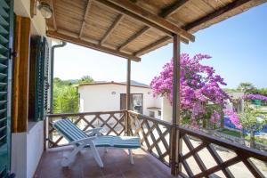 A balcony or terrace at Villa Leo