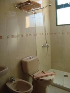 A bathroom at Castillo Playa