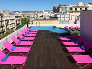 A view of the pool at TWO Hotel Barcelona by Axel 4* Sup- Adults Only or nearby