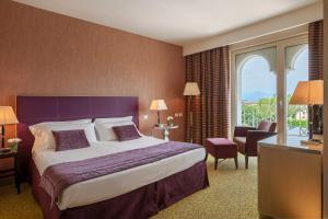 Postel nebo postele na pokoji v ubytování Hotel Nazionale