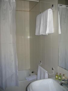 A bathroom at Besiberri
