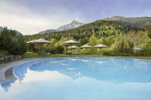 The swimming pool at or near Kempinski Hotel Berchtesgaden