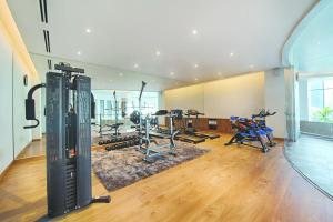 The fitness center and/or fitness facilities at Vanda Hotel