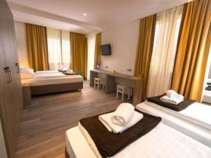 Letto o letti in una camera di Hostel Sol