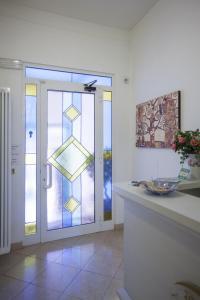 Ванная комната в Hotel Amalfi