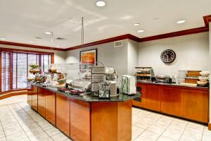 A restaurant or other place to eat at Homewood Suites by Hilton Stratford