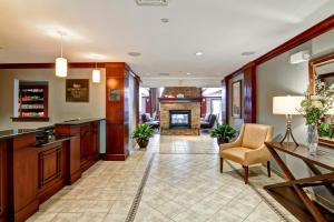 The lobby or reception area at Homewood Suites by Hilton Stratford