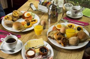 Ontbijt beschikbaar voor gasten van Hotel Restaurant Oortjeshekken