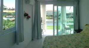 Uma vista do apartamento