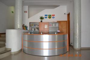 El vestíbulo o zona de recepción de Hotel Suites Gaby