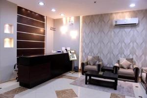 O saguão ou recepção de Talah Aparthotel