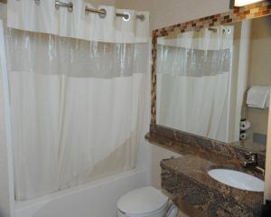 Ванная комната в Skyview Motel