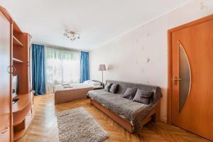 A seating area at Apartment in Yugo-Zapadnaya