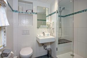 A bathroom at Hotel Grünberger superior