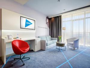 Гостиная зона в Отель Старт