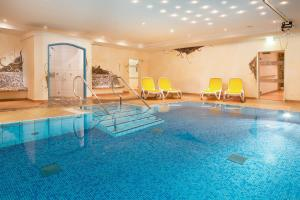 The swimming pool at or near Hotel Viktoria