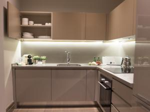 A kitchen or kitchenette at Sentire Hotels & Residences