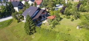 Apartment Monte Rosa с высоты птичьего полета