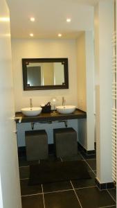 Een badkamer bij Hotel Alegria