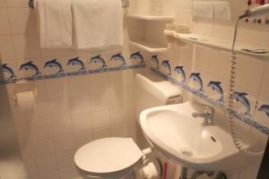 Ванная комната в Hotel Doerenkamp