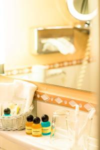 Ванная комната в Boutique- und Businesshotel Herrenküferei