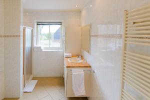 Een badkamer bij Buitenplaats Langewijk