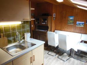 Kuchyň nebo kuchyňský kout v ubytování Ferienwohnung Dirlinger by Schladmingurlaub
