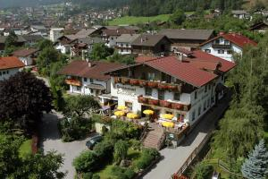 A bird's-eye view of Hotel Edelweiss