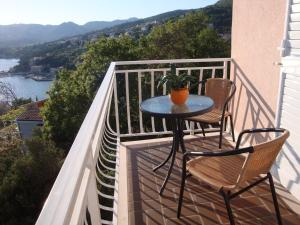 A balcony or terrace at Villa Barbara