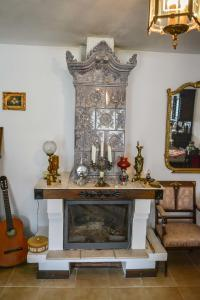 The lobby or reception area at Casa Veche