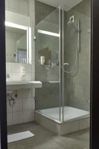 Ein Badezimmer in der Unterkunft Hotel Feyrer