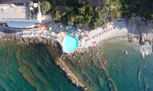A bird's-eye view of Hotel La Perla Del Capo