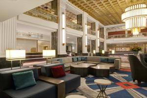 Лаундж или бар в The New Yorker, A Wyndham Hotel