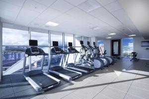 The fitness centre and/or fitness facilities at Hilton Garden Inn San Jose La Sabana, Costa Rica