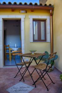 Patio o area all'aperto di Casa Vacanze Andolina Suite