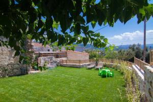 A garden outside Villa Salis