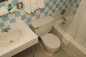Ванная комната в Downeast Motel