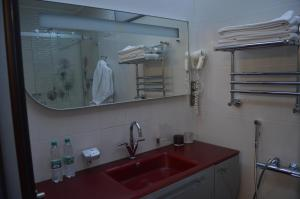 A kitchen or kitchenette at The Volga House Boutique-Hotel