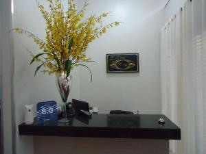 The lobby or reception area at Hotel MM AEROPORTO BRASÍLIA
